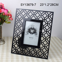 Wholesale glossy black folded photo frames