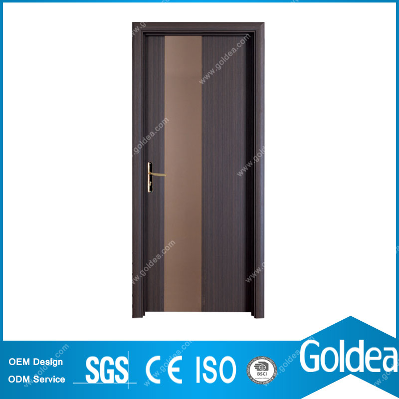 Goldea Main Entrance Inter Wooden Door Design