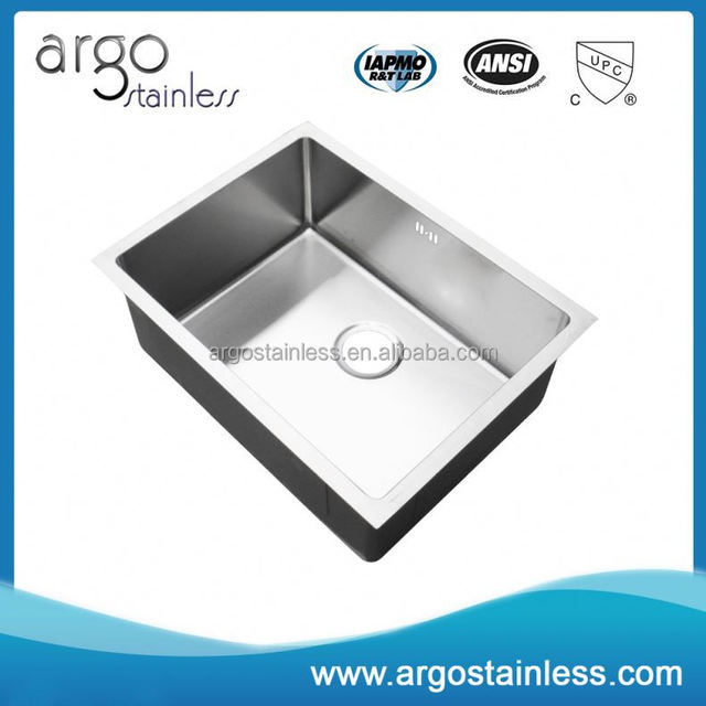 Online wholesale handmade made in china stainless steel sink kitchen