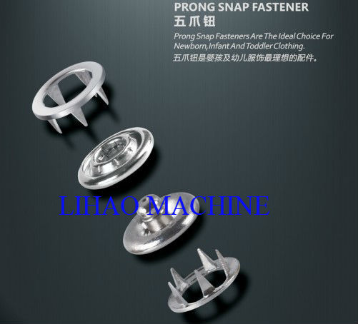 mold press for prong snap button, such as stud, socket, snap