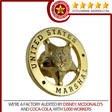 Customized metal insignia for military