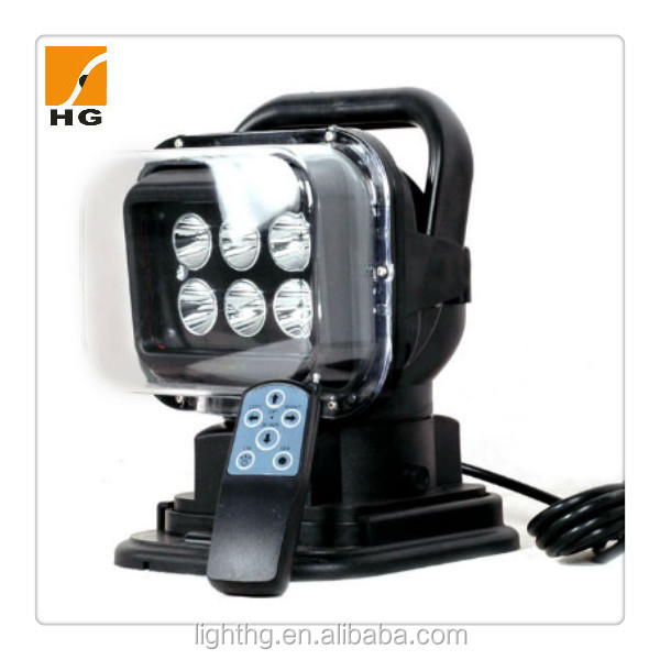 led emergency light 50w hand held search light 7'' 50w for atv mini Jeep
