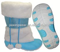 New Injection cheap fashion winter boots for outdoor and promotion,light and comforatable