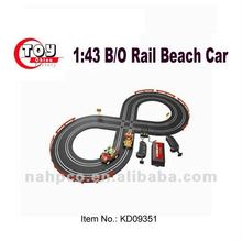 1:43 B/O Rail Beach Car With Track