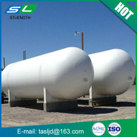 Competitive prices and high quality 50 m3 storage tank liquid CO2 storage tank with ASME standard from China manufacturer