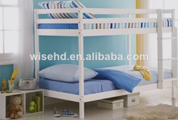 ( W-B-5005 ) solid pine wood cheap bunk beds