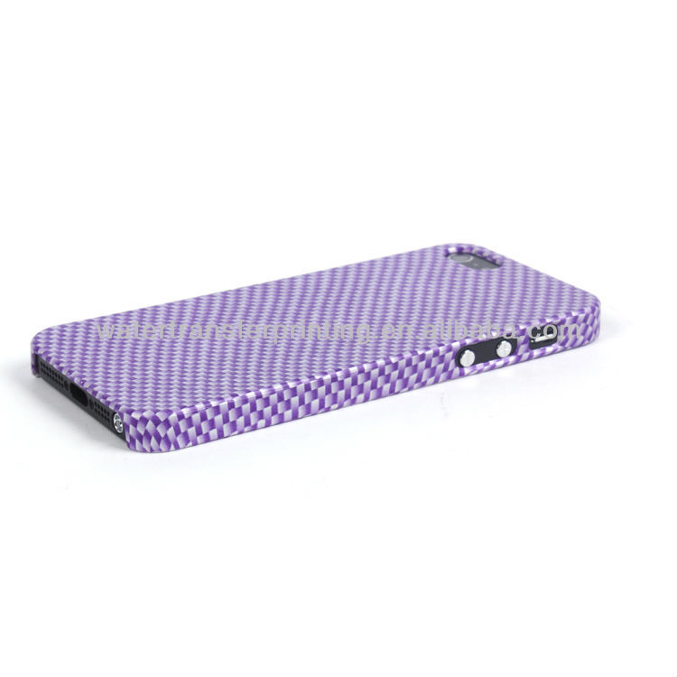 phone case for apple iphone5 Carbon Fiber patterns