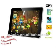 ZX-MD9702 2012 hottest 9.7 capacitive screen Android 4.0 HD tablet pc