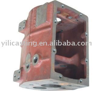 gear box sand casting products grey iron casting machining parts