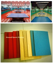 Lowest price table tennis PVC free shipping Sports flooring for selling