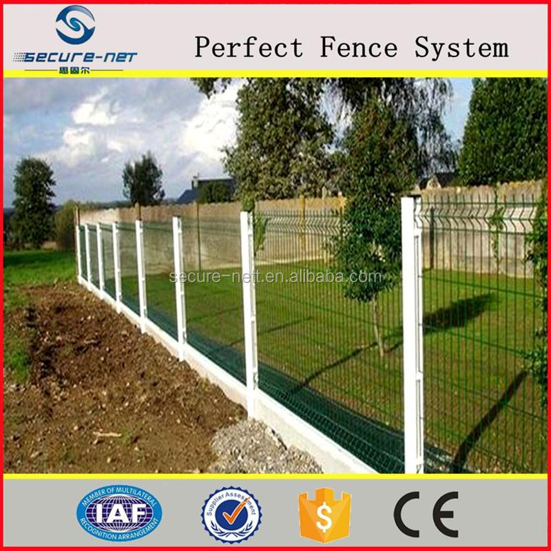 China manufactory curved metal grill garden zone fence