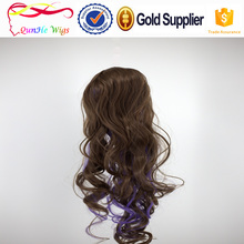 2017 New design high quality synthetic hair with high quality