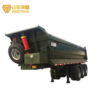 Factory price good quality left hand drive truck tipper semi trailer for sale