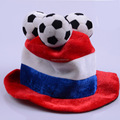 Factory sell France football fans hat france football headband wig hat