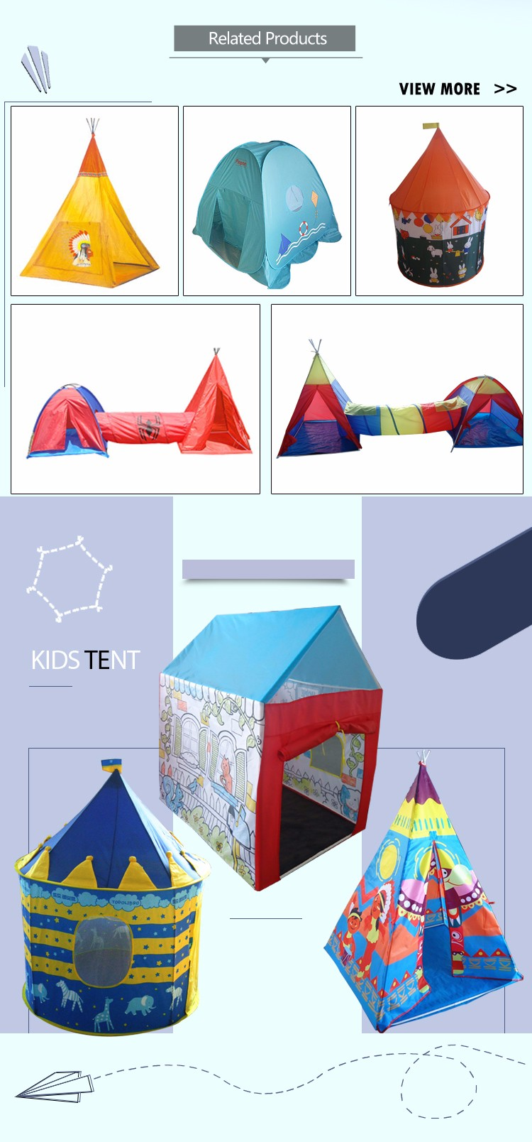 Foldable Baby Toy Ocean Ball Pool Pop Up Kids Play Tent House