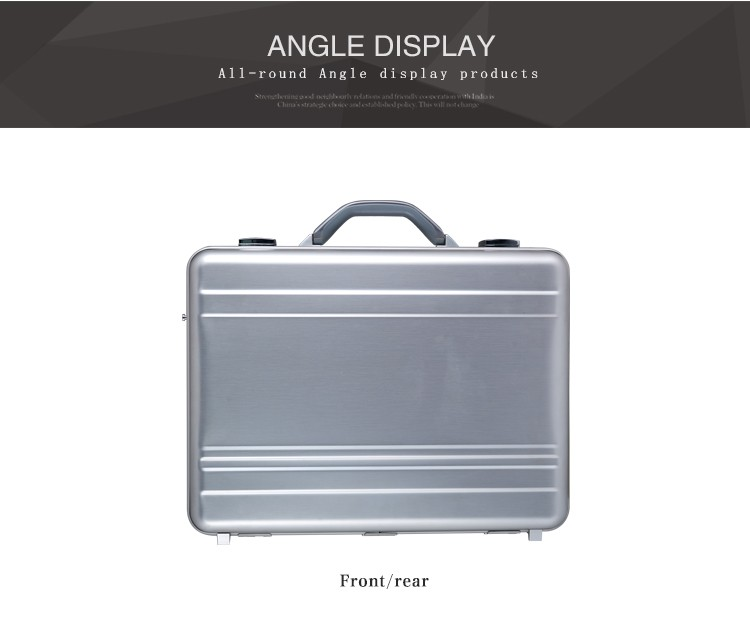 Spare parts document leather briefcase