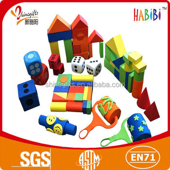 various design eva foam block for children