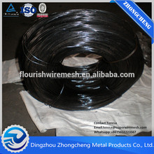 Quality Products 16 Gauge Black Annealed Wire Binding Wire Tie Wire with Tensile Strength