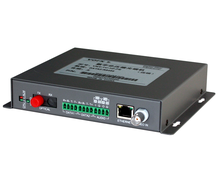 1ch 20KM data video fiber optic transmitter receiver
