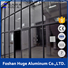 Hotel exterior wall decoration aluminum glass curtain wall price