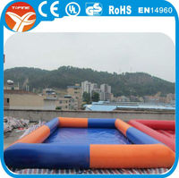 2015 popular portable swimming pool/0.9mm PVC inflatable adult swimming pool/swimming pool cover