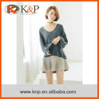 2016 hot sale fashion outwear women's knitwear casual sweater pullover