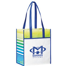 New design recycled laminated promotional pp non woven shopping bag