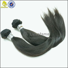 2014 luxefame hair beauty style 6A cheap raw straight hair virgin indian hair company