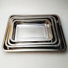 cheap food tray high quality stainless steel buffer serving tray
