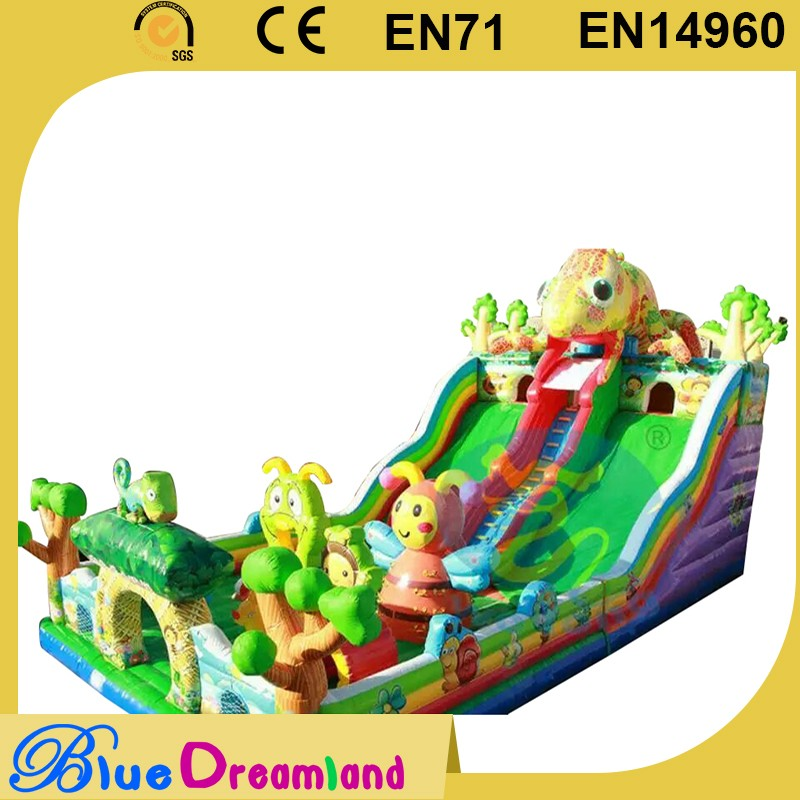 New product inflatable fun city for rental