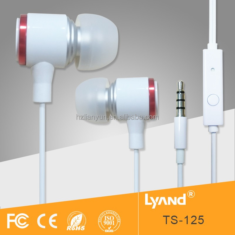 Christmas gift beautiful super mini earpiece & earbuds for mp3 players