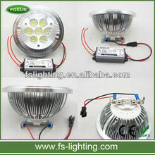 Top Quality 7w 9w 11w 14w dimmable gu10 g53 ar111 led spotlight