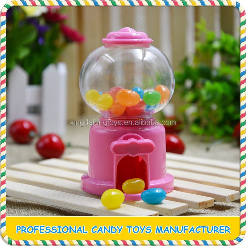 China factory plastic candy machine toys on promotion