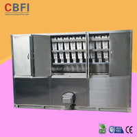 Germany standard Refrigeration Equipment Cube Ice Machine for industrial used