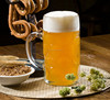 Haonai M-30622 Hot Sales Manufacturer direct beer glass stein with lid