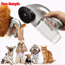 Eco-Friendly Stocked small animals clean up products pet accessory vacuum cleaner small mini brush electric pet hair remover
