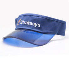Unique fashion designer customized transparent visor UV sun visor hat