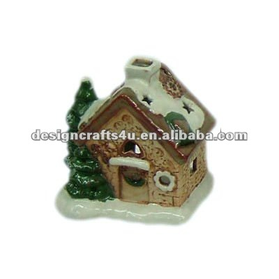 Ceramic Christmas Village Houses for Decorations