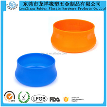 Guyot Design Silicone Pet Bowl Silicone Rubber Dog Bowl and Cat Bowl