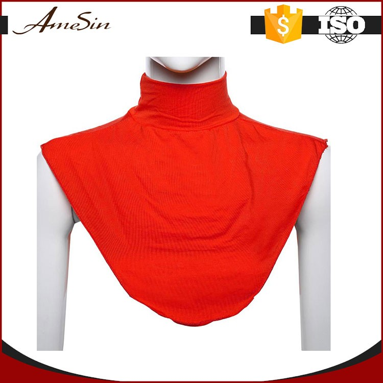 AMESIN SZM13 muslim detachable collar ladies winter shawl