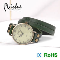Fashional design for ladies leather ladies vogue watches
