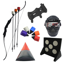 Factory price archery combat tag shoot game bow and foam tip arrow for sale