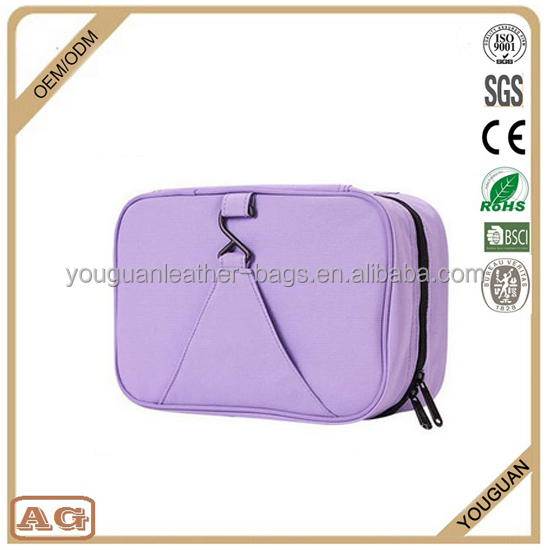 Youguan Wholesale Makeup Storage Organizer Multi-Function Handbag Cosmetic Bag in Bag For Women