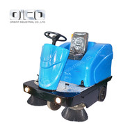 C200 Plastic Broom Type Street Sweeper Asphalt Road Sweeping Machine