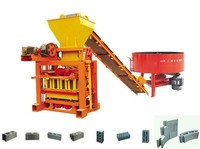 Competitive QTJ4-40 small brick making machine simple block making machine best selling products in nigeria