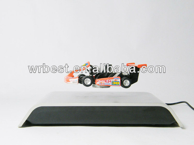 Levitating!! Magnetic floating model car