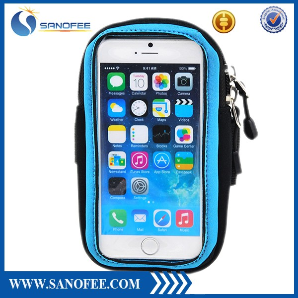 2016 China New Popular Waterproof Bag and Cover for Mobile Phone with Armband