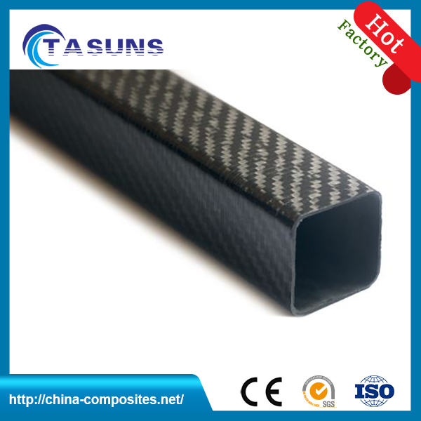 Custom logo 44mm carbon fiber tube With Promotional Price
