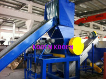 new condition HDPE nets recycling equipment