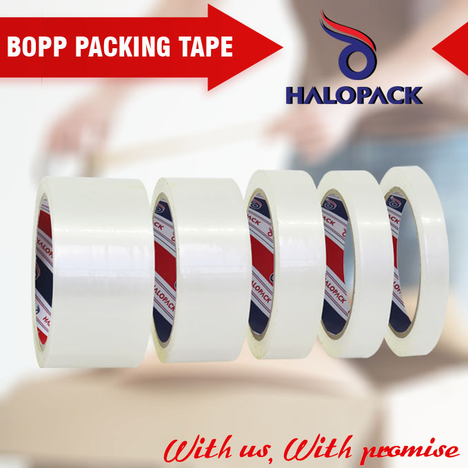 waterproof feature and acrylic adhesive type easy tear tape